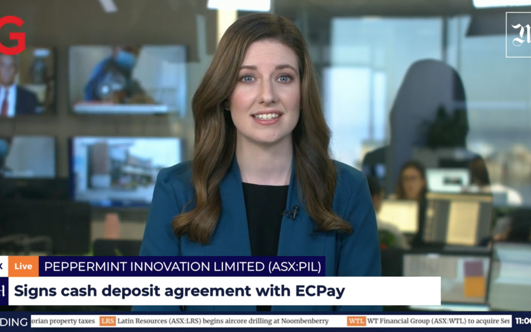 Peppermint Innovation signs cash deposit agreement with ECPay
